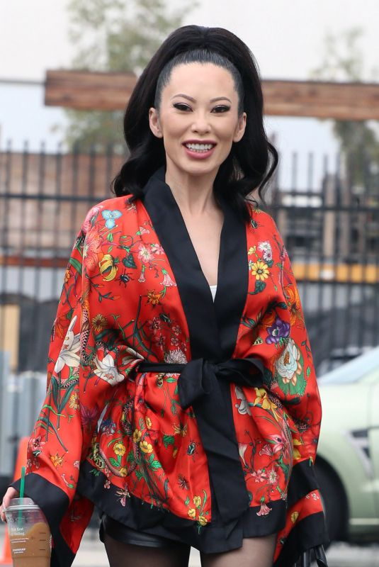 CHRISTINE CHIU Arrives at DWTS Practice Studio in Los Angeles 09/15/2021