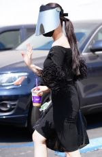 CHRISTINE CHIU at Dancing With The Stars Rehearsal in Los Angeles 09/07/2021