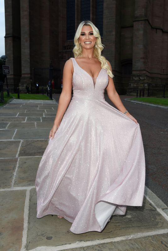 CHRISTINE MCGUINNESS Arrives at National Diversity Awards in Liverpool 09/10/72021