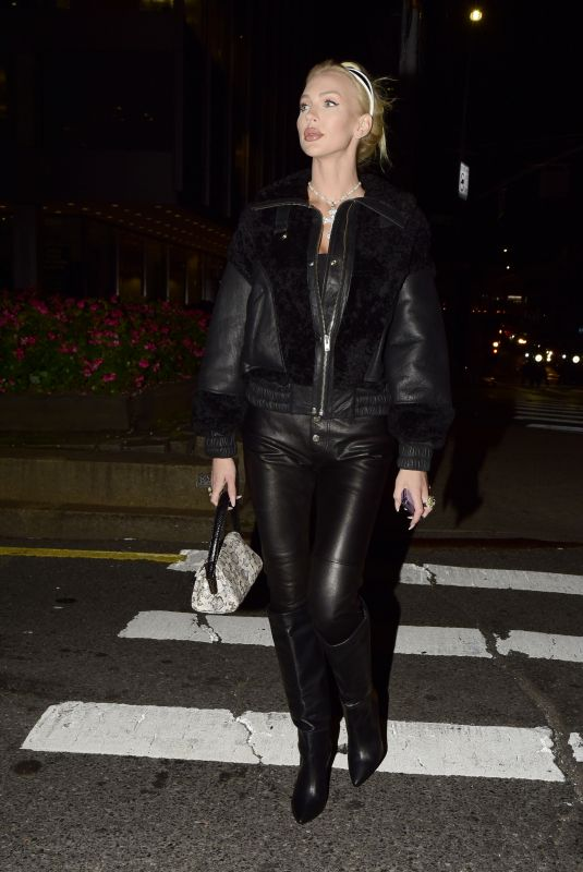 CHRISTINE QUINN Out for Dinner at Catch in New York 09/10/2021