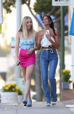 CJ FRANCO Out with Friend in West Hollywood 09/16/2021