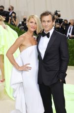 CLAIRE DANES at 2021 Met Gala in New York 09/13/2021