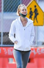 CLAIRE DANES Out for Coffee in New York 09/24/2021
