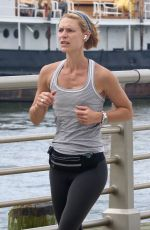 CLAIRE DANES Out Jogging in New York 09/23/2021