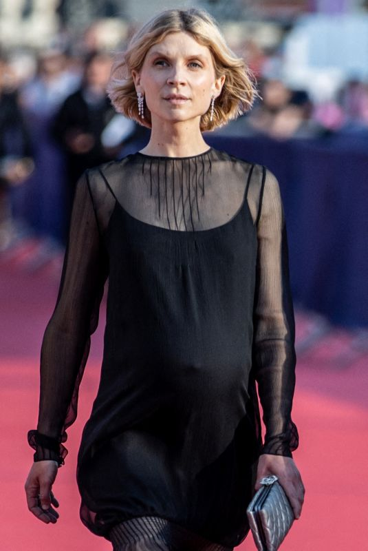 CLEMENCE POESY at 2021 Deauville American Film Festival 09/03/2021