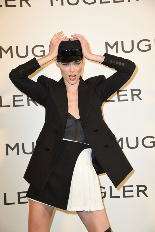 COCO ROCHA at Thierry Mugler: Couturissime Exhibition Opening Ceremony at Museum of Fine Arts in Paris 09/28/2021