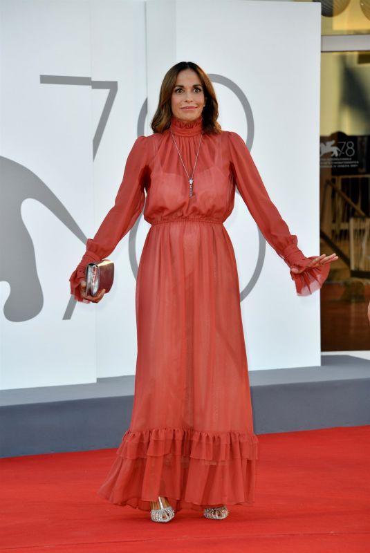CRISTINA PARODI at Illusions Perdues Premiere at 78th Venice International Film Festival 09/05/2021