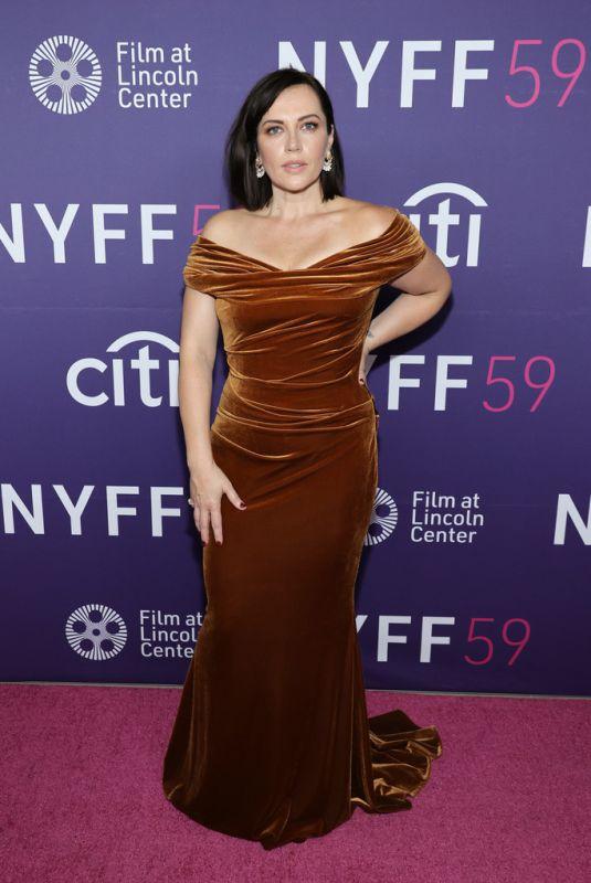 DAGMARA DOMINCZYK at The Lost Daughter Premiere at 2021 New York Film Festival 09/29/2021