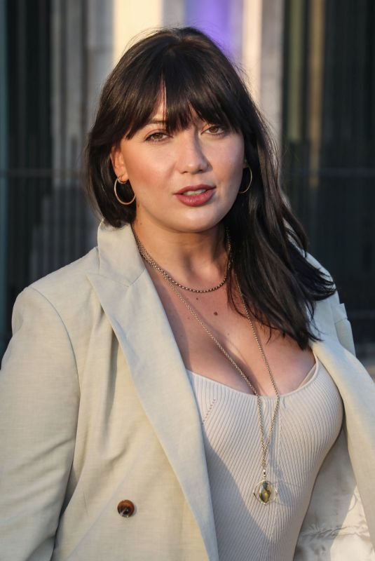 DAISY LOWE Arrives at British Takeaway Awards in London 09/06/2021