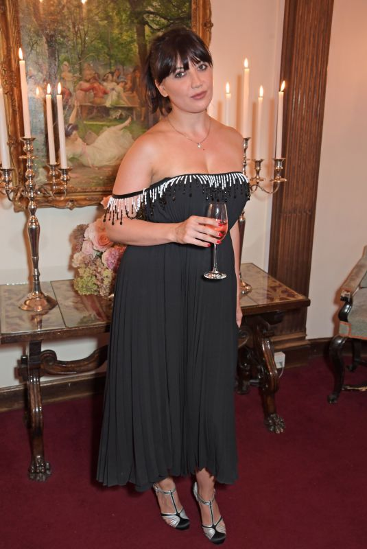 DAISY LOWE at Bird in Hand Wines Sparkling 2021 Dinner in London 09/08/2021