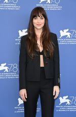 DAKOTA JOHNSON at The Lost Daughter Photocall at 78th Venice International Film Festival 09/03/2021
