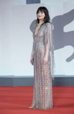 DAKOTA JOHNSON at The Lost Daughter Premiere at 78th Venice International Film Festival 09/03/2021