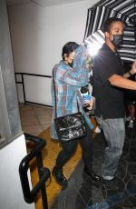 DEMI LOVATO Leaves E Baldi in Beverly Hills 09/08/2021