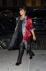 DEMI LOVATO Night Out in New York 09/28/2021