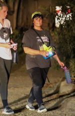 DEMI LOVATO Out Hiking in Los Angeles 09/21/2021