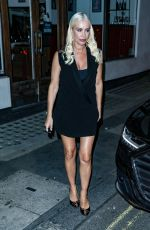 DENISE VA OUTEN Night Out in London 09/19/2021
