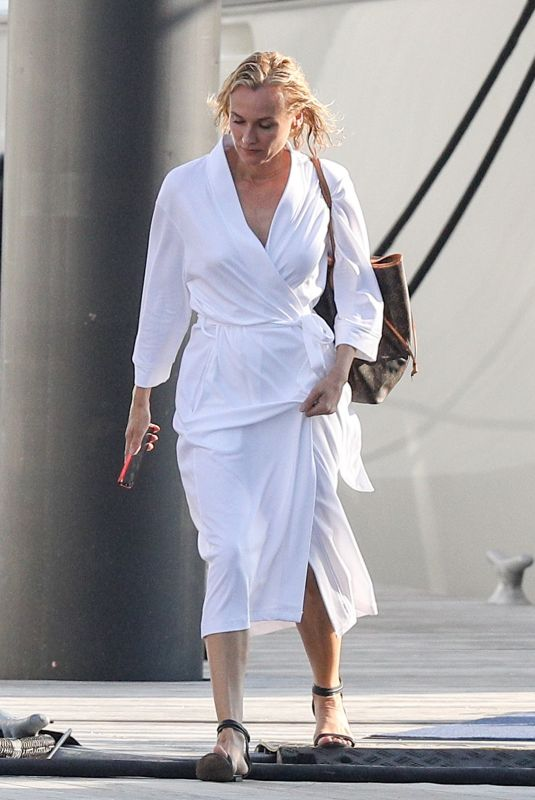 DIANE KRUGER Leave Out of the Blue Set in Newport 09/17/2021