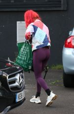 DIANNE BUSWELL Leaves Strictly Come Dancing Rehearsals in London 09/14/2021