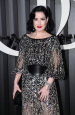 DITA VON TEESE at Opera Garnier Opening Season Gala in Paris 09/24/2021