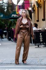 DOVE CAMERON on the Set of a Photoshoot in New York 09/15/2021