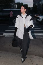 DUA LIPA and Anwar Hadid Out for Dinner in New York 09/20/2021