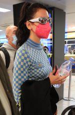 DUA LIPA at Airport in Milan 09/27/2021