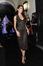 DUA LIPA at Versace Special Event in Milan 09/26/2021