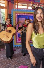 EIZA GONZALEZ at Dia de los Muertos Celebration at Disney California Adventure Park 09/24/2021