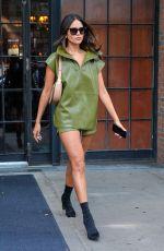EIZA GONZALEZ Leaves Bowery Hotel in New York 09/10/2021
