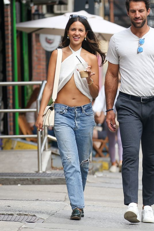 EIZA GONZALEZ Out and About in New York 09/08/2021