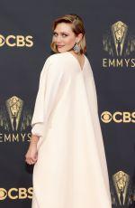 ELIZABETH OLSEN at 73rd Primetime Emmy Awards in Los Angeles 09/19/2021