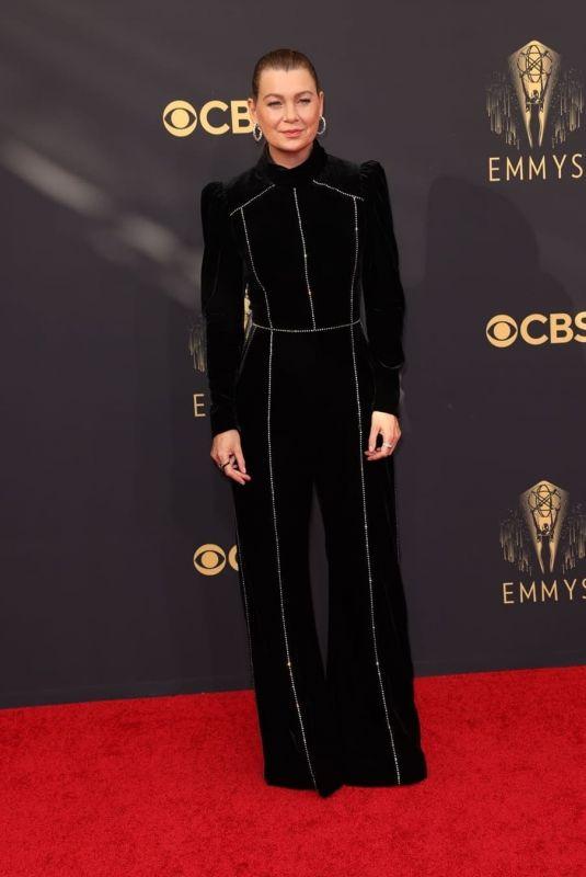 ELLEN POMPEO at 73rd Primetime Emmy Awards in Los Angeles 09/19/2021