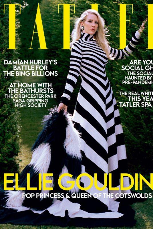 ELLIE GOULDING for Tatler Magazine, November 2021