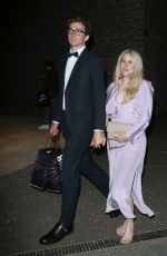 ELLIE GOULDING Leaves GQ Awards Afterparty in London 09/01/2021