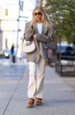 ELSA HOSK Out and About in New York 09/11/2021