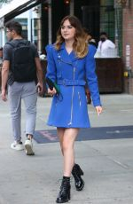 EMILIA JONES Out and About in New York 09/20/2021