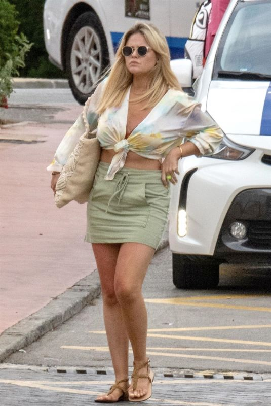 EMILY ATACK Out and About in Marbella 09/17/2021