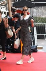 EMILY BLUNT Arrives at Her Hotel in New York 09/13/2021