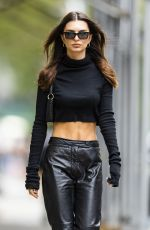 EMILY RATAJKOWSKI Out and About in New York 09/22/2021