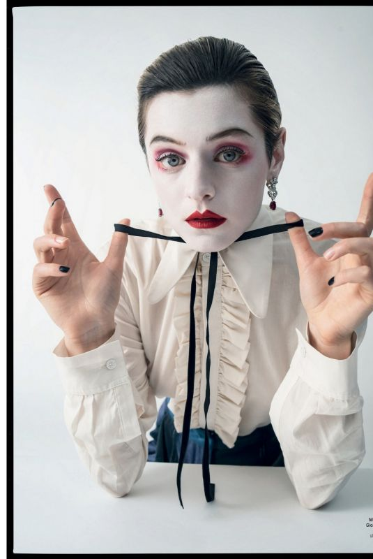 EMMA CORRIN in W Magazine, September 2021 Issue