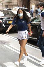 EMMA RADUCANU Arrives at Her Hotel in New York 09/15/2021