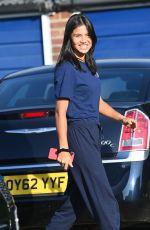 EMMA RADUCANU Returns to Her Home in Kent 09/16/2021