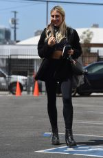EMMA SALTER Arrives at Dancing With the Stars Rehearsals in Los Angeles 09/03/2021