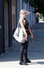 EMMA SLATER Arrives at Dancing With The Stars Rehearsal in Los Angeles 09/02/2021