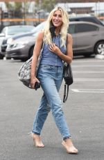 EMMA SLATER Arrives at DWTS Rehearsals in Los Angeles 09/01/2021