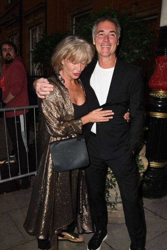 EMMA THOMPSON Arrives at Icon Ball in London 09/17/2021