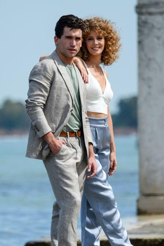ESTHER ACEBO and Jaime Lorente at 78th Venice International Film Festival 09/05/2021