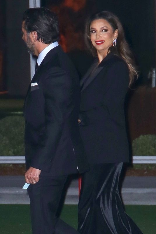 EVA LONGORIA Leaves Academy Museum of Motion Pictures Opening Gala 09/25/2021
