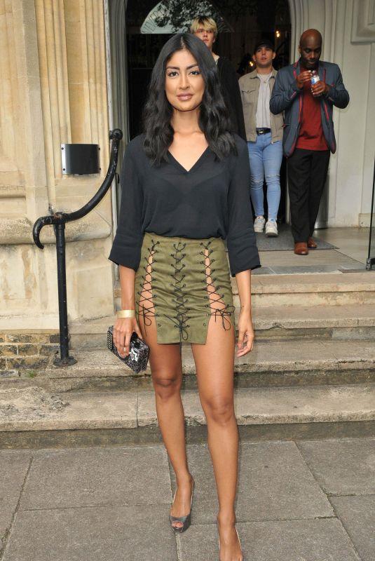 FARAH SATTAUR at Fashion's Finest Show Spring/Summer 2022 at London Fashion Week 09/18/2021