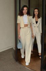 FRANCESCA ALLEN and SHARON GAFFKA at WOTC Magazine London Fashion Week Event 09/18/2021